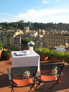 Florence tower Terrazzo, Florence, Patio, Outdoor Decor, Home Decor, The View, Rook, Decoration Home, Room Decor