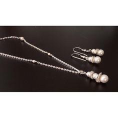 Sterling Silberkette Perlen