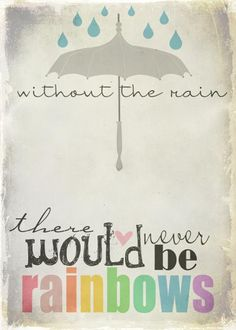 #rain #rainbows #heart