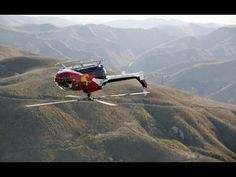 Helicopter Pilot Chuck Aaron Performs a Series of Incredible Aerobatic Tricks
