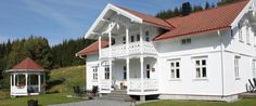 Nedre Nårlia - Stiltre Norwegian House, Home Focus, Home Fashion, Craftsman, Villa, Cottage, Exterior, Mansions, House Styles