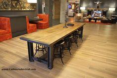 Decor, Furniture, Bar Table, Industrial Design, Custom Table, Table, Home Decor