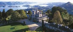 Larnach Castle in New Zealand - read more at: http://www.house-crazy.com/new-zealands-larnach-castle/