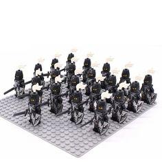 20Pcs//Set Black Skeleton Army White Army of the Dead Building Blocks DIY Toys