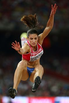 Ivana Spanovic of Serbia competes in the Women's Long Jump final during day seven of the 15th IAAF World Athletics Championships Beijing 2015 at Beijing National Stadium on August 28, 2015 in Beijing, China.