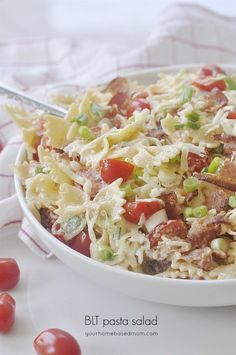 BLT Pasta Salad Side