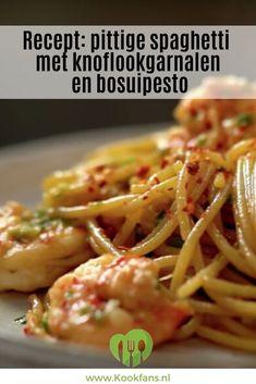 Spicy Recipes, Pasta Recipes, Italian Recipes, Vegetarian Recipes, Cooking Recipes, Spicy Spaghetti, Pasta Facil, Happy Foods, Everyday Food