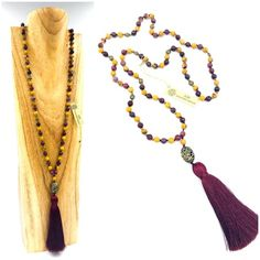 Collection Prémium :: creation-aum Swarovski, Tassel Necklace, Tassels, Creations, Collection, Jewelry, Fashion, Pom Poms, Jasper