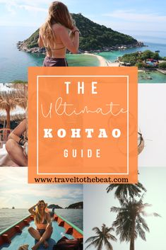Koh Tao is my favorite island in Thailand! I have visited twice now and have compiled a complete Koh Tao Guide for you including where to stay, eat, how to get around, best beaches, and more! Check it out :) Thailand Travel Tips, Asia Travel, Padi Diving, Scuba Diving, Tao Restaurant, Diving Course, Pub Crawl, Koh Tao, Beautiful Islands