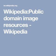 Wikipedia:Public domain image resources - Wikipedia