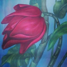 Beautiful handmade oil flower painting..now auctioned at $20.99..u gotta have it, especially at this price
