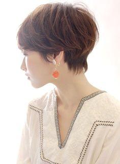 絶対的人気 大人の定番ショートスタイル(髪型ベリーショート)