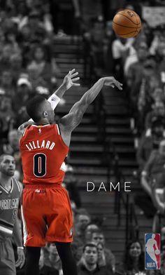 Damian Lilard 3pt Wallpaper Portland Trailblazers Mvp Basketball Damian Lillard