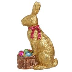 These look good enough to eat, but they are decorative. A basket of bunnies makes a great centerpiece.