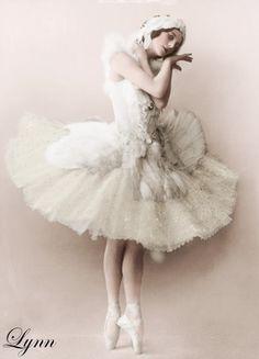 Anna Pavlova- The original Odette.