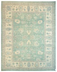 Closeout Rugs 9 X Gallery Oushak Design Rug Hand Knotted In Stan Size Feet 2 Inch Es 12 0