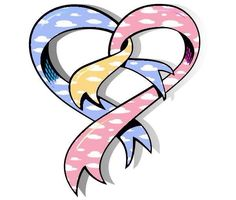 We Love The Cherubs!! Our Baby, Baby Boy, Pregnancy And Infant Loss, Ribbon Tattoos, Hernia, Nicu, Awareness Ribbons, Close To My Heart, Lululemon Logo