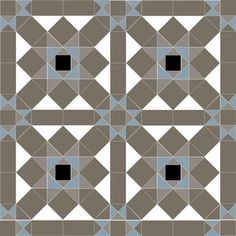 All the tile shapes in the Grasmere design are available in 25 colours. Grasmere will work in any combination of or 6 different colours. Graphic Patterns, Tile Patterns, Victorian Pattern, Victorian Wallpaper, Geometric Tiles, Super White, Diamond Pattern, Tile Design, Blue Grey