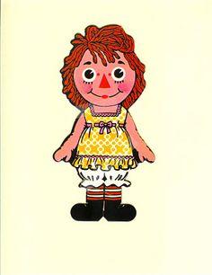 Raggedy Ann Colorforms