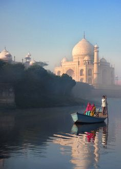 Bask in the majesty of the Taj Mahal.