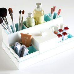 Click Pic for 34 DIY Makeup Storage Ideas | Makeup Caddy | Small Closet Organization Ideas | DIY Makeup Organizer Ideas