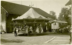 Karussell, Schweiz, 1920
