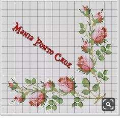 1 million+ Stunning Free Images to Use Anywhere Cross Stitch Borders, Cross Stitch Rose, Cross Stitch Flowers, Modern Cross Stitch, Cross Stitching, Cross Stitch Embroidery, Hand Embroidery, Cross Stitch Patterns, Embroidery Designs