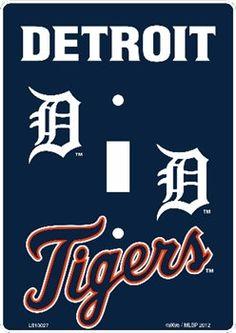 Detroit Tigers Logo Stencil Baseball Coloring Sheet