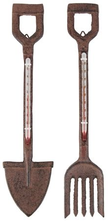 Cast Iron Garden Thermometer - http://www.blankdesigns.co.uk/apps/webstore/products/show/6131427