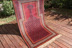 "Beautiful old handwoven rug in great condition / carpet  size 143x87cm 4'8"" x 2'10"" / by Balouch Tribal /Oriental / decor / interior by AnatolianConcept on Etsy"