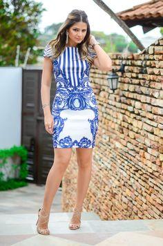 Vestido – Iódice   Brinco – Bo.Bô