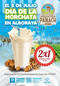 Campaña 2x1 Día de la horchata en Alboraya 2015