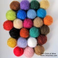 Mohair Smooth Waldorf Doll Hair Yarn by ThisChildDolls on Etsy, $8.49