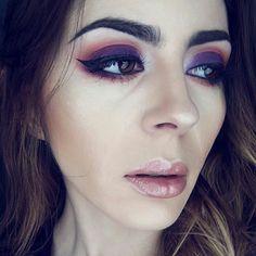 Autum makeup by Denia Uriarte