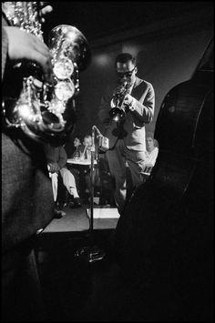Miles Davis, 1958, NYC. Photo by Dennis Stock.°  .