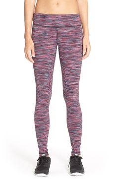 In love with these Zella leggings that add a splash of purple to the active gear.