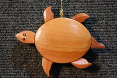 Each of our handmade carved ornaments is made from five different native woods, including redwood, western red cedar, Alaskan yellow cedar, port orford cedar, and incense cedar. Because of this each has a unique aromatic scent. We then seal them with clear lacquer to bring out Router Woodworking, Woodworking Projects, Port Orford Cedar, Western Red Cedar, Xmas Crafts, Wood Carving, Turtle, Projects To Try, Christmas Ornaments