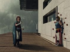 Remember Mamika, the superhero alter ego of photographer Sacha Goldberger's grandmother Frederika? Well, now she's back but with a new sidekick and love interest: Mister Papika! Brain Art, Brain Science, Brain Stem, Brain Food Memory, Sacha Goldberger, Brain Lobes, Brain Mapping, Mary Sue, Old Age