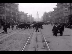 This silent film was filmed in San Francisco only four days before the Great California Earthquake of April 18th 1906 and shipped by train to NY for processing.      Amazing, but true!