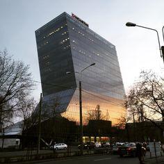 Bucharest, Skyscraper, Multi Story Building, Tower, Skyscrapers, Rook, Computer Case, Building