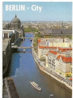 Germany. Berlin. Palace of the republic. Postcard. Private swap, thank you Vanda.