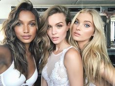 "db26c45368 Josephine Skriver on Instagram  ""when the light is just right 😂   angelselfie"". Victoria s Secret models ..."