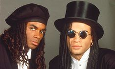 Blame these hats on the rain. Or the fact that these guys were up to their elbows in cocaine and prostitutes at the time.