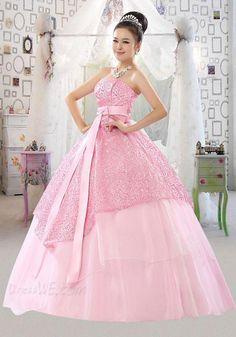 Dresswe.com SUPPLIES New Ball Gown Sweetheart Floor-Length Ball Gown Dress Quinceanera Dresses