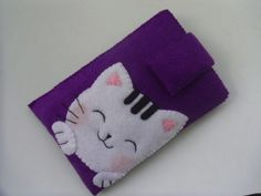 Iphone 4 case /iphone4s case/ Ipod case / Iphone case / droid case- Cat 2, Purple-. $24.00, via Etsy.