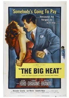 "QC050 - ""The Big Heat"" / Fritz Lang 1953 / Film-Noir / (USA)"