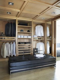This #contemporary #masculine #closet would be great for some of our male clients