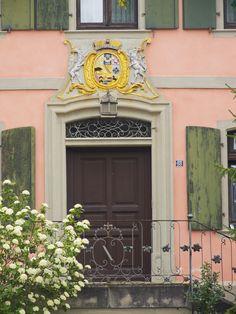 Badenweiler im Südschwarzwald ein prächtiger Hauseingang
