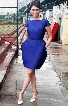 Aditi Rao Hydari  in Neha Taneja blue dress