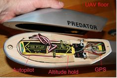 How to build a Predator UAV (In layman's terms: a picture taking Unmanned Aerial Vehicle)